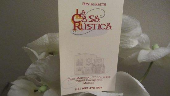 La Casa Rustica: NICE