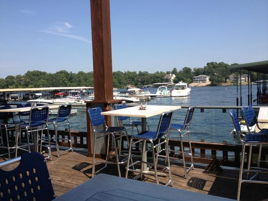 Shorty Pants Lounge and Marina: view from table