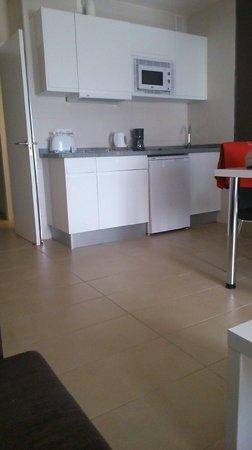 Playa Olid Apartments: Apartment Kitchen Area