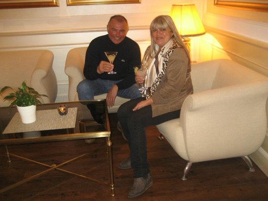 Hotel Schweizerhof Gourmet & Spa : salon