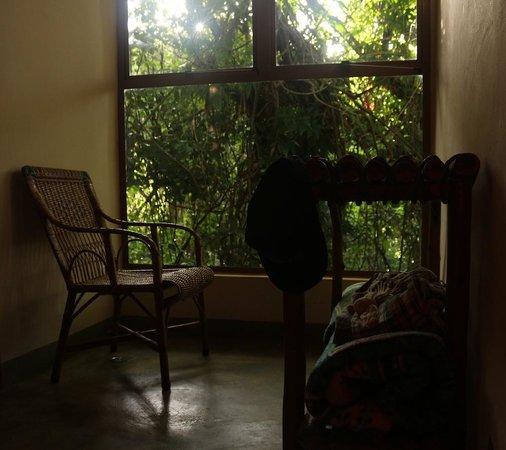 Hotel Fazenda Serra Da Cachoeira: Janela do quarto