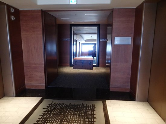Grand InterContinental Seoul Parnas : etage club intercontinental au 33 etages