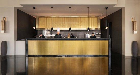 The Grill: Semi Open Kitchen