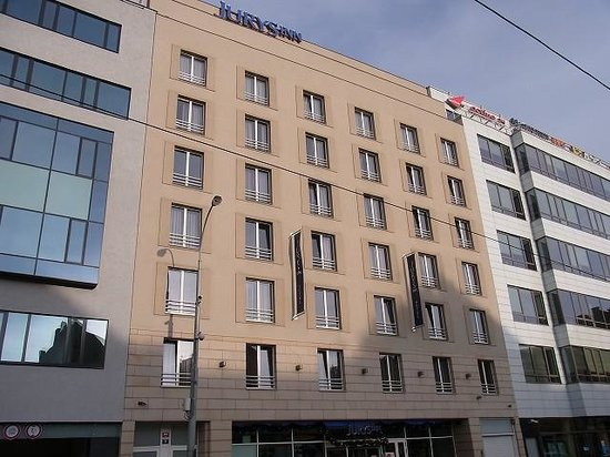 Jurys Inn Hotel Prague: ホテルの外観