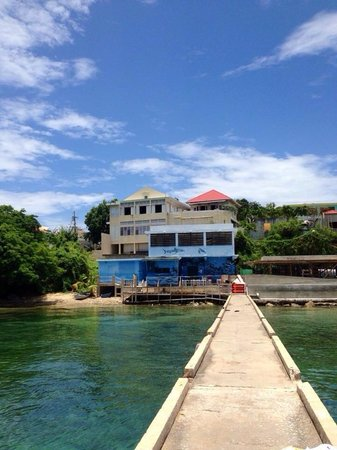 Isabel Segunda, Puerto Rico: View from the fisherman pier