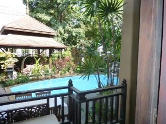 Amata Lanna Chiang Mai: view from our bedroom door