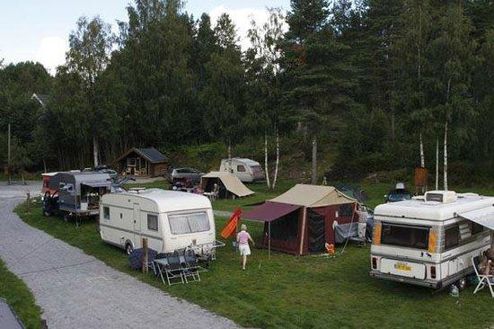 Oddestemmen Steinsliperi og Camping: Кемпинг летом