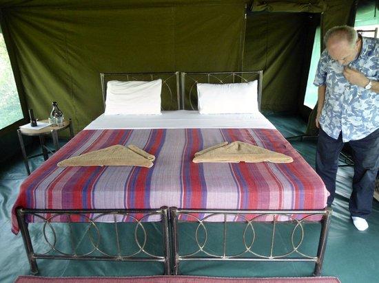 Lake Natron Halisi Camp: interno tenda