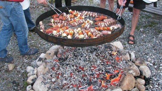 Oddestemmen Steinsliperi og Camping: Барбекю