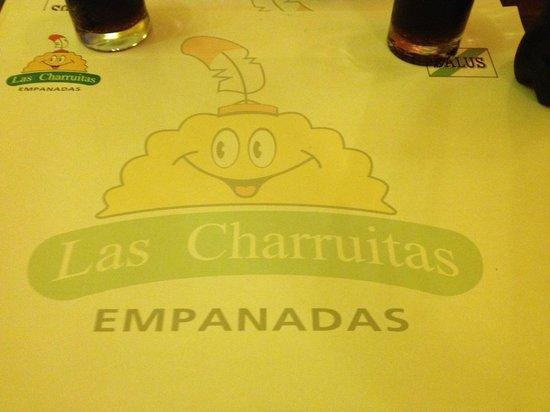 Las Charruitas Empanadas: Logo da lanchonete!
