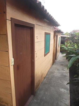 Restaurant y Hotel Calakmul: Cabaña no-2 au 25 février 2014.