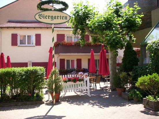 Hotel-Gasthaus Zur Kanne: Biergarten