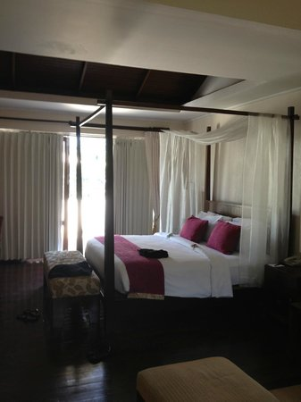 Absolute Chandara Resort & Spa: le lit king size