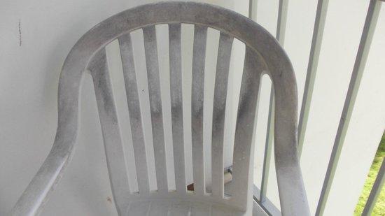 Hotel Bakoua: fauteuil balcon