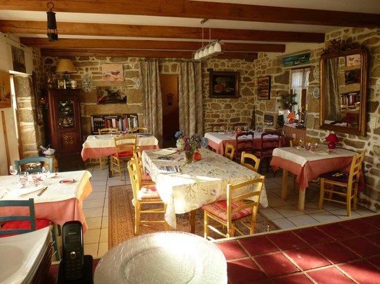 Auberge de Bel Air : La salle à manger