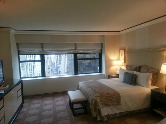 Lotte New York Palace: Room, just lovely!  Spacious for NY standards, clean and tastefully decorated!