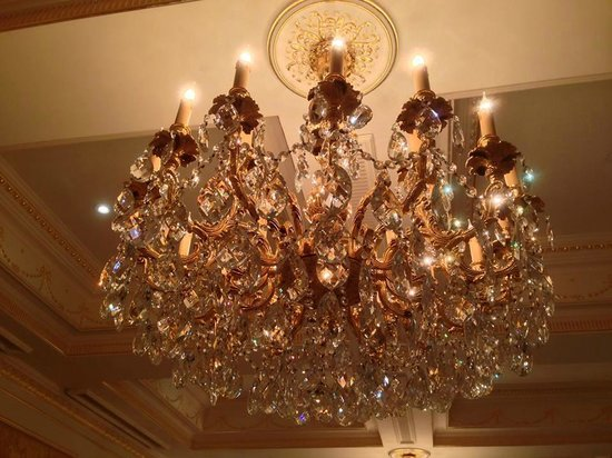 The Bentley London: Chandelier