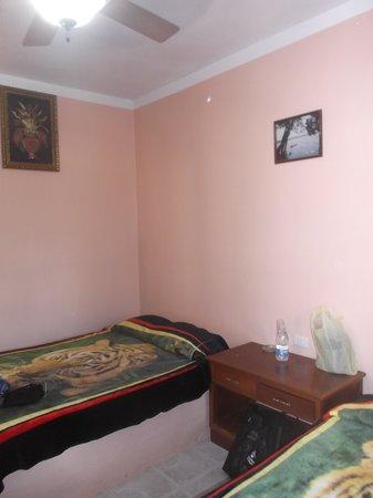Restaurant y Hotel Calakmul: Notre chambre 21 au 24 février 2014.