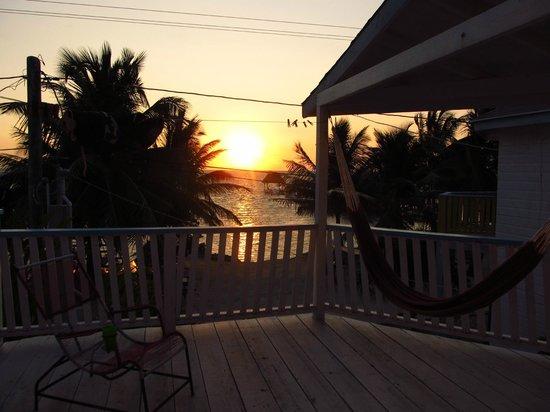 Costa Maya Beach Cabanas: Sunrise from Room 6