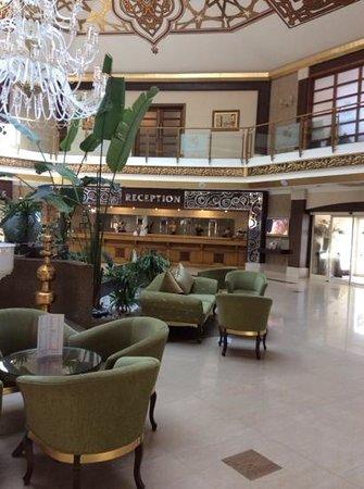Crystal Paraiso Verde Resort & Spa: reception area