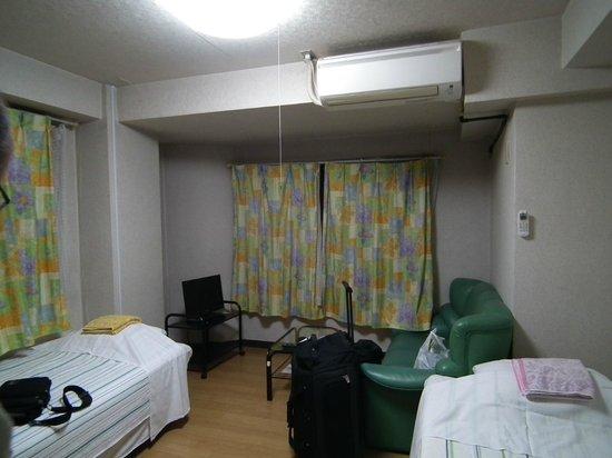 Kurumi Mansion: Más que un apartamento, una habitación con algún electrodoméstico.