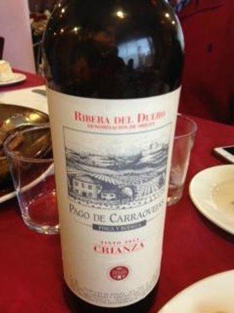 La Parrilla de Galarza : buen vino