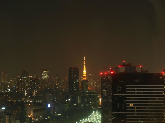 The Strings by InterContinental Tokyo : I can see the Tokyo SkyTree from my room. I was told that Mt Fuji can be seen too during clear d