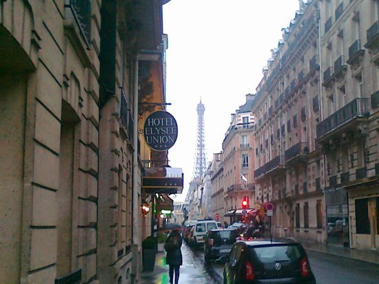 Hotel Elysees Union: getting to the hotel