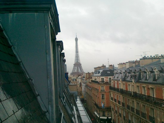 Hotel Elysees Union: view from the room