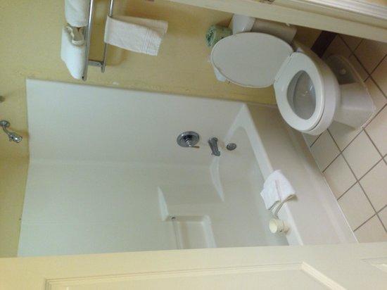 Howard Johnson Inn Jackson: The bathroom