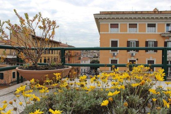 Atlante Garden Hotel : Крыша отеля