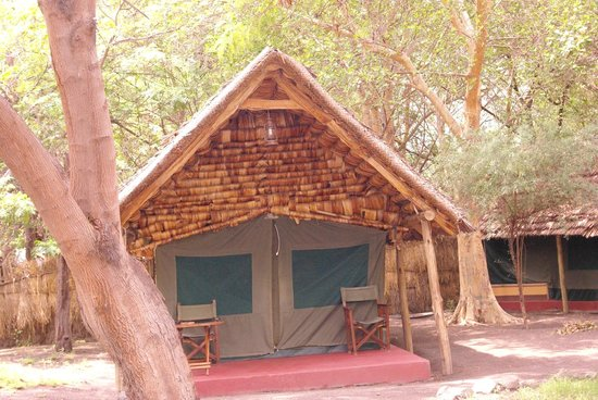 Natron River Camp: lodge