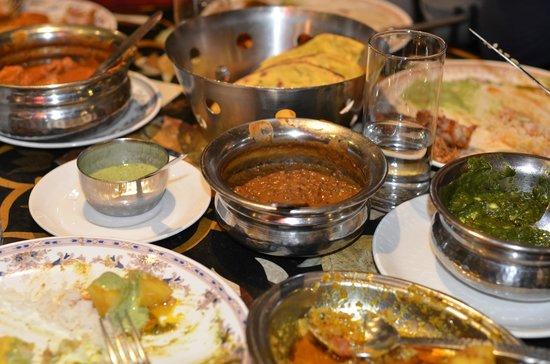 Chor Bizarre : our thali meal