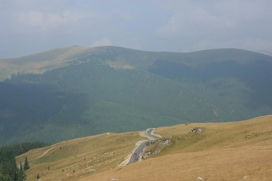 Transalpina Road: Wiev from the road
