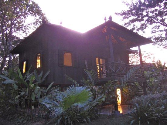 Maison Polanka : Khmer house - where we stayed