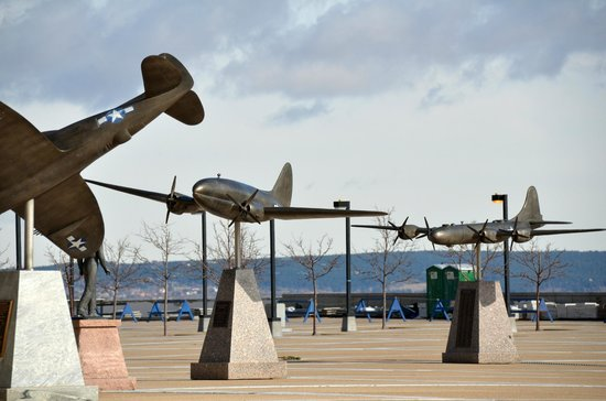 United States Air Force Academy: Miniature Historic aircraft at AFA