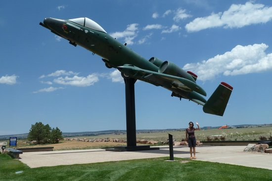 United States Air Force Academy: A-10 at AFA