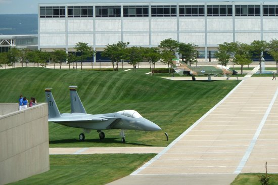 United States Air Force Academy: F-15 and F-4 at AFA