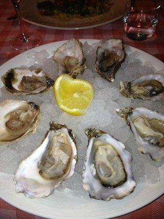 De Gouden Kroes : sublieme oesters !