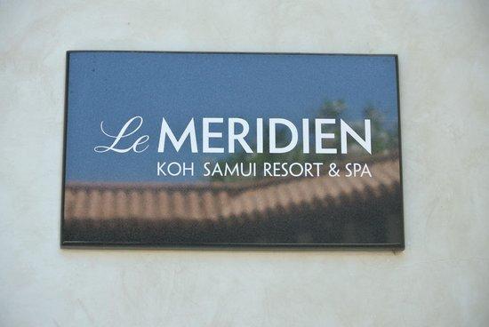 Le Meridien Koh Samui Resort & Spa: Le Meridien