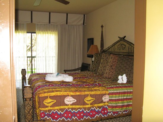 Disney's Animal Kingdom Villas - Kidani Village : Master bedroom