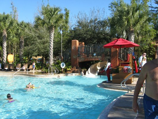 Disney's Animal Kingdom Villas - Kidani Village : Pool area (Kidani)