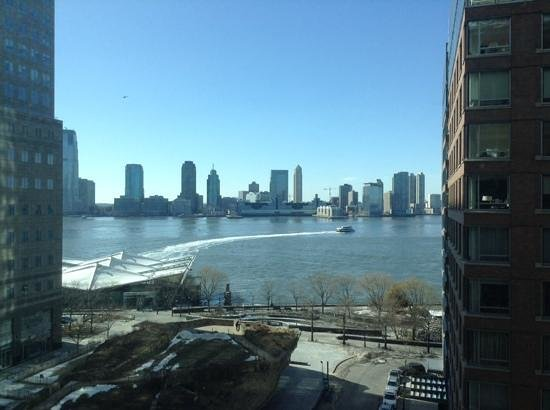 Conrad New York: The view from our river side suite room 927