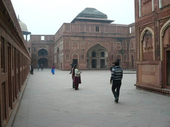Rotes Fort: Inside Agra Fort