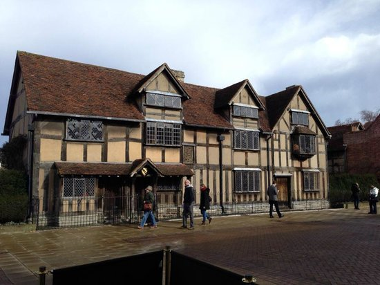 Shakespeare's Birthplace: House view