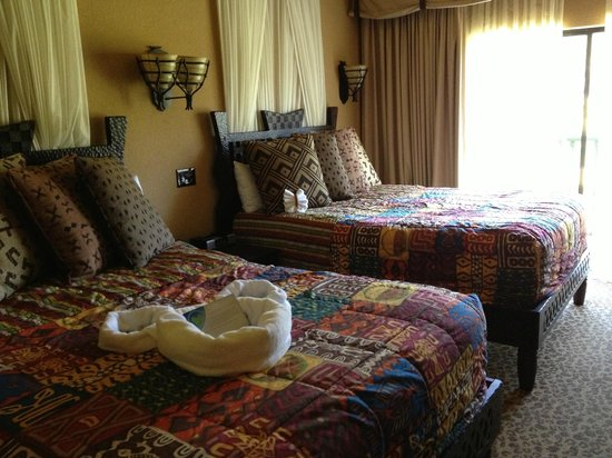 Disney's Animal Kingdom Villas - Kidani Village : Second bedroom