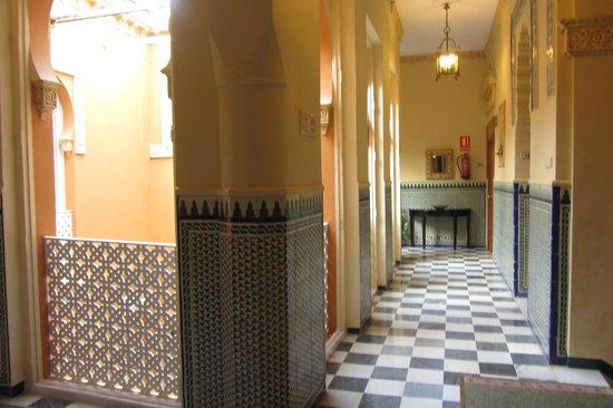 Hotel Zaida : Hotel tiles