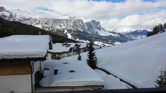 Hotel Falzares: Veduta dalla finestra