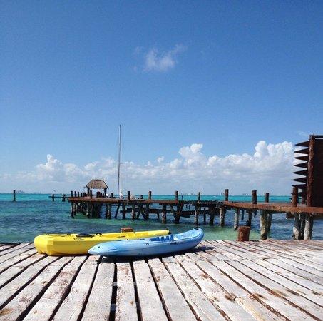 Casa de Los Sueños : Kayaks available at hotel