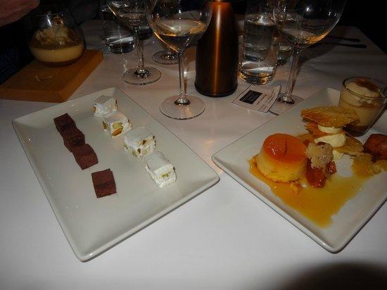 O'Connell St Bistro: Dessert sampler plate